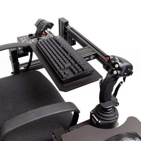 Diy Chair Mounted Keyboard Tray