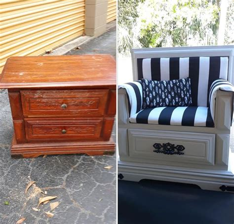 Diy Chair Nightstand