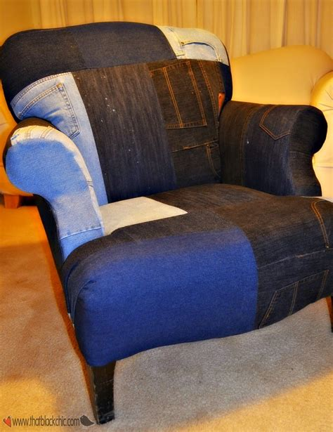 Diy Chair Out Of Jeans