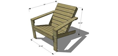 Diy Chair Plan