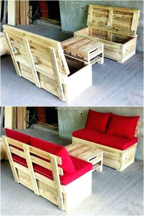 Diy Chair Plan With Storage