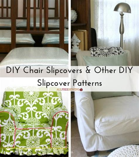 Diy Chair Slipcover Pattern