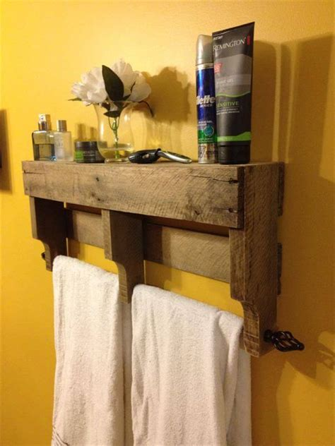 Diy Chair Towel Rack