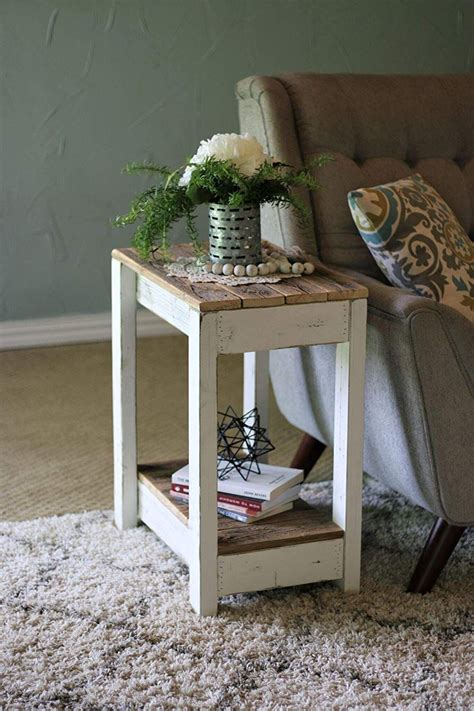 Diy Chairside End Table