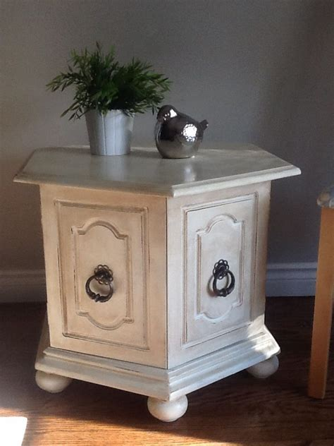 Diy Chalk Paint Side Table