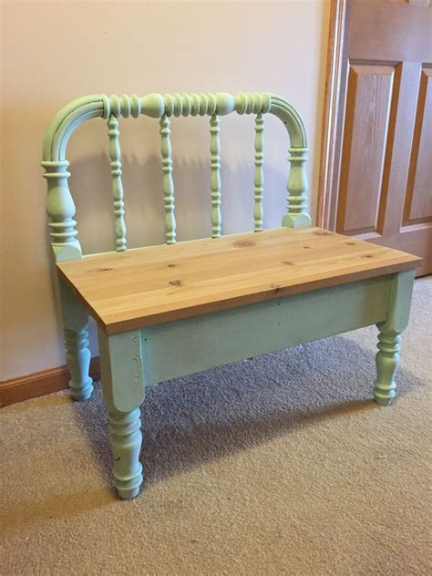 Diy Chalk Painted Bench Seats