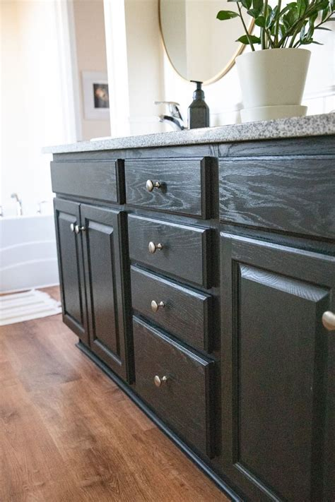 Diy Chalk Painting Bathroom Cabinets