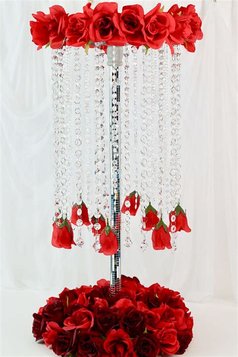 Diy Chandelier Centerpieces