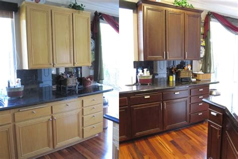 Diy Changing Color Of Kitchen Cabinets