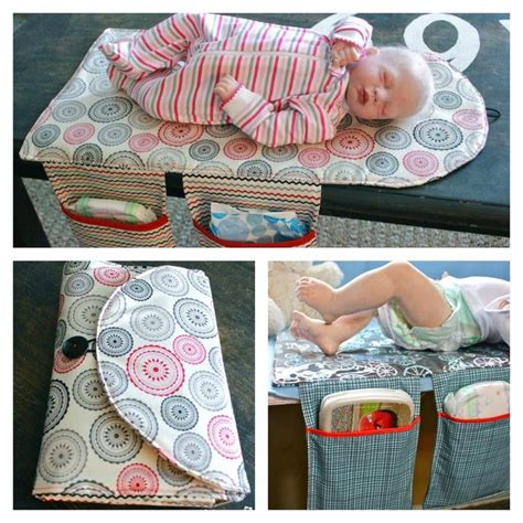 Diy Changing Pad Clutch For Baby