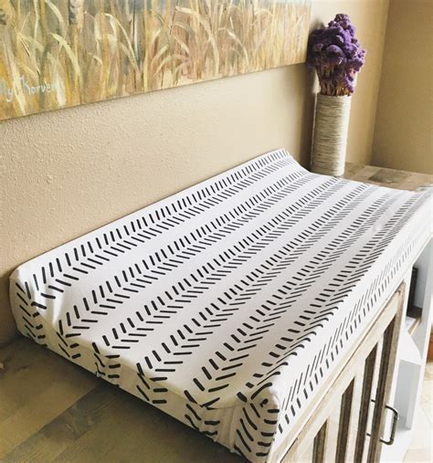 Diy Changing Pad Cover Contoured