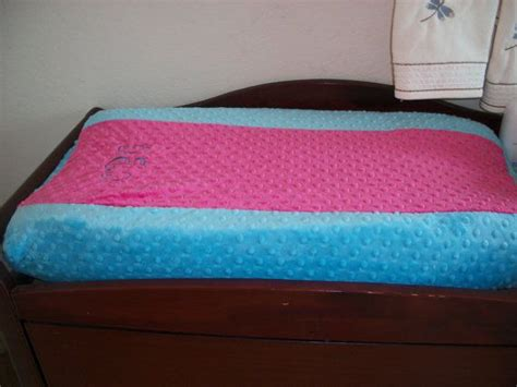 Diy Changing Pad With Minky