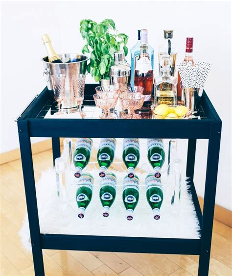 Diy Changing Table To Bar Cart