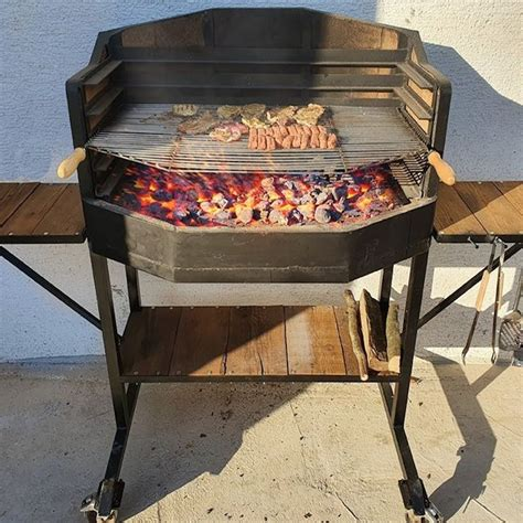 Diy Charcoal Grill Plans