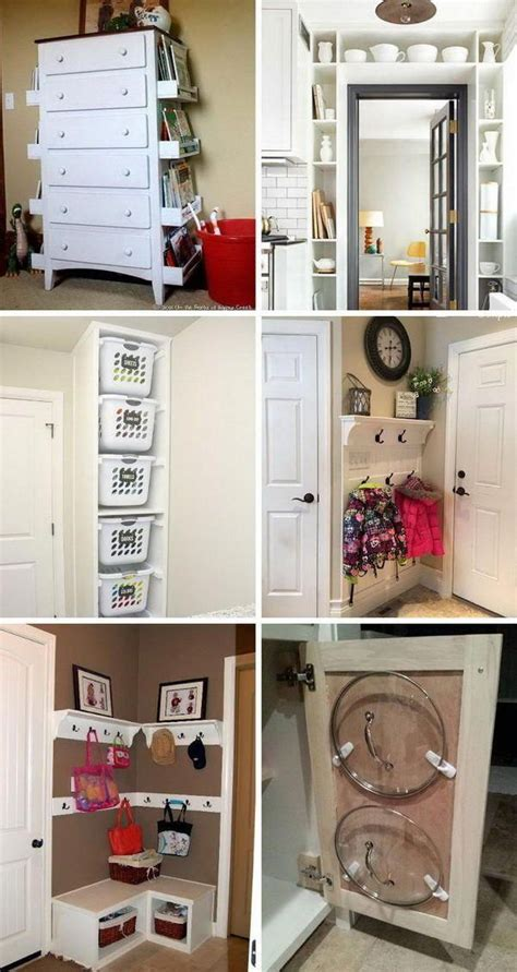 Diy Cheap Storage Ideas For Small Spaces