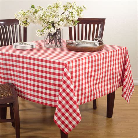 Diy Checkered Table Covers