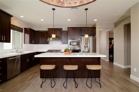 Diy Cherry Wood Counter In White Kitchen
