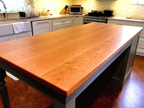 Diy Cherry Wood Countertops
