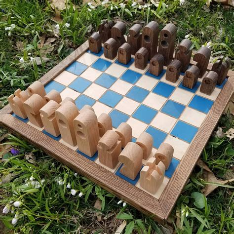 Diy Chess Pieces Wood