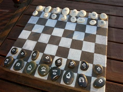 Diy Chess Table