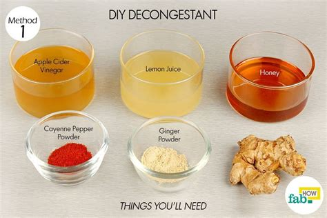 Diy Chest Congestion Relief