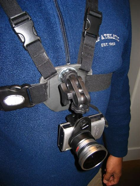 Diy Chest Harness For Camera
