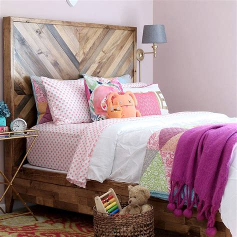 Diy Chevron Wood Headboard