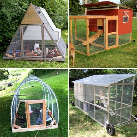 Diy Chicken Tractor Plans For Free