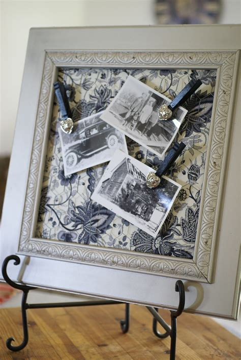 Diy Chicken Wire Photo Frame