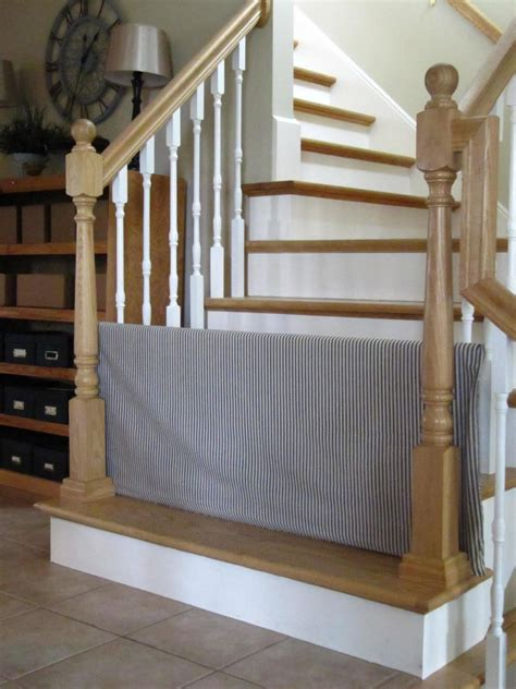 Diy Child Gate For Stairs Parallel