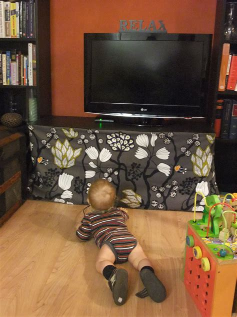 Diy Child Proof Tv Stand