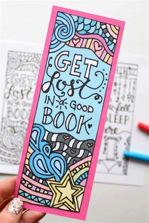 Diy Childrens Bookmarks