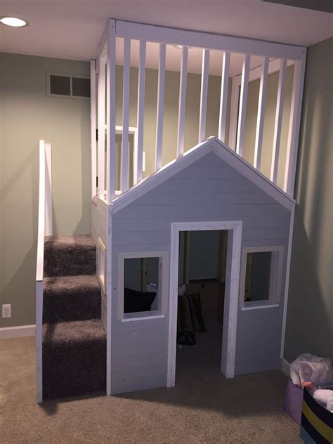 Diy Childrens Indoor Playhouse