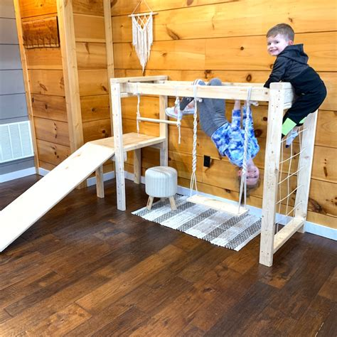 Diy Childrens Jungle Gym