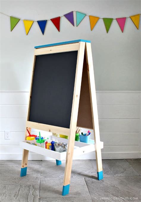 Diy Childrens Painting Easel