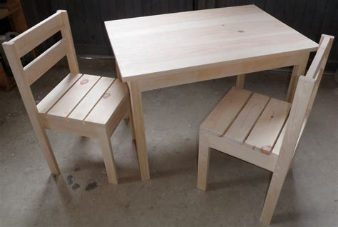 Diy Childrens Table And Chairs Plans