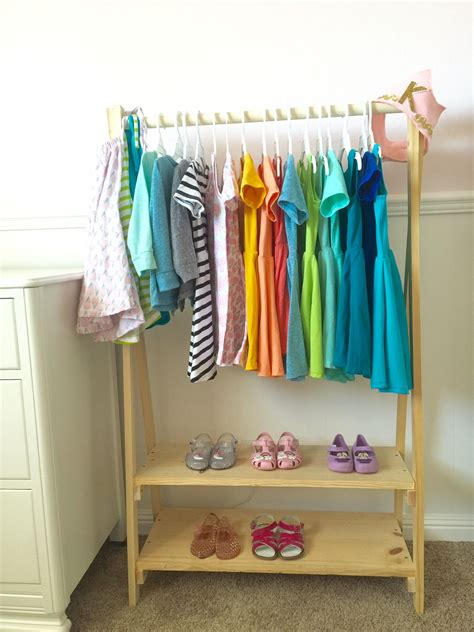 Diy Childrens Wooden Clothes Rack