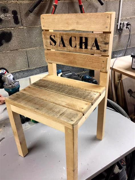 Diy Childs Wooden Chair