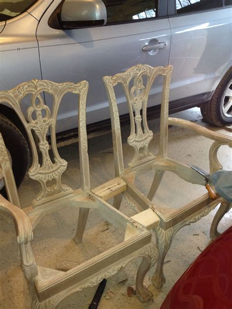 Diy Chippendale Chairs Into Bench