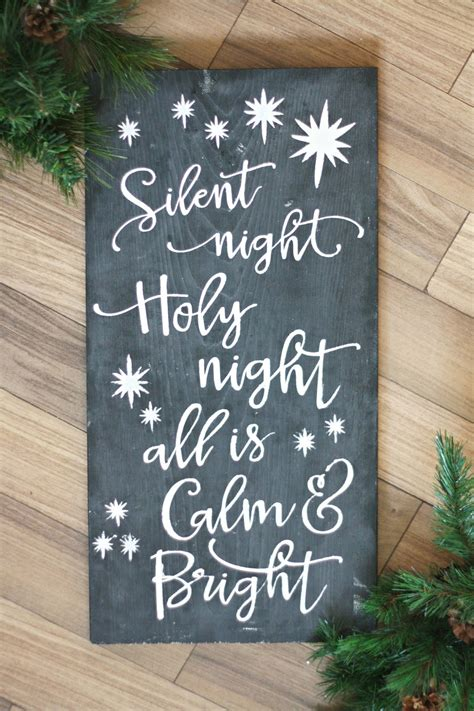 Diy Christmas Chalkboard Signs