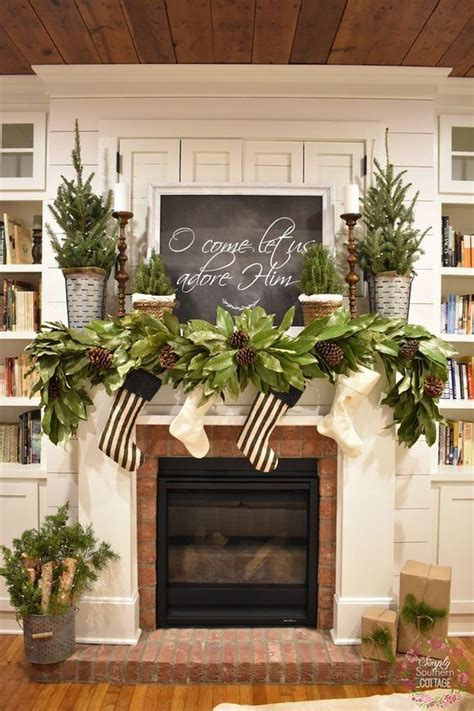 Diy Christmas Decor For Mantle