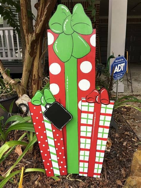Diy Christmas Lawn Decorations Wood
