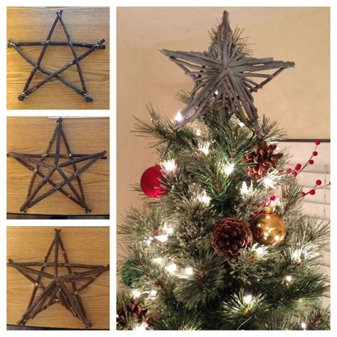Diy Christmas Star Tree Topper