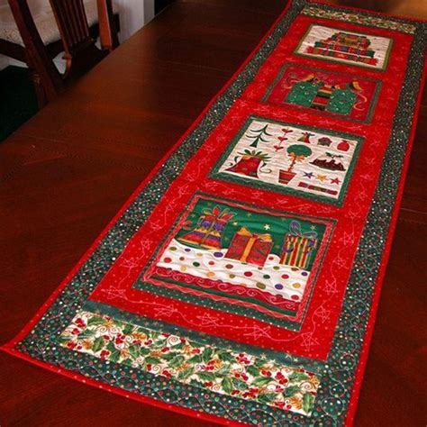 Diy Christmas Table Runner Ideas