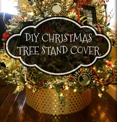 Diy Christmas Tree Stand Cover
