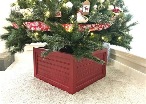 Diy Christmas Tree Storage Box