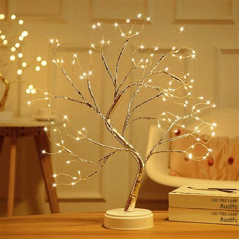 Diy Christmas Tree Table Lamp