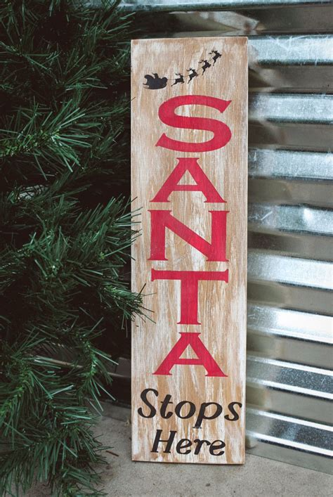 Diy Christmas Wood Signs Blogs