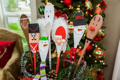 Diy Christmas Wooden Spoons