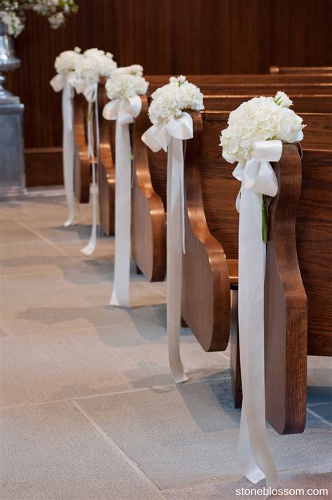 Diy Church Pew Decorations For Weddings